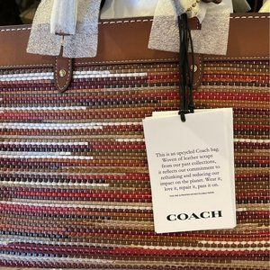 Coach Forever Field Tote 30